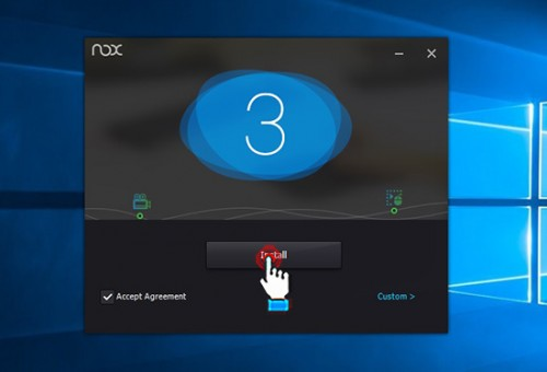 Tải và cài đặt Nox App Player - Giả lập Android Tiếng Việt