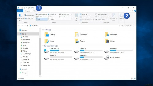 Tắt quảng cáo OneDrive trên File Explorer trên Win 10