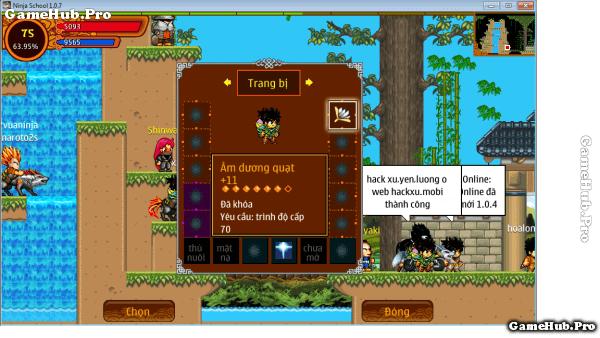 Thủ Thuật Đập Đồ Hên Của Game Thủ Ninja School Online