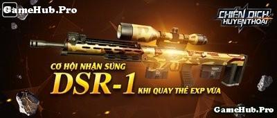 Chiến Dịch Huyền Thoại: Ra mắt súng bắn tỉa DSR-1 mới