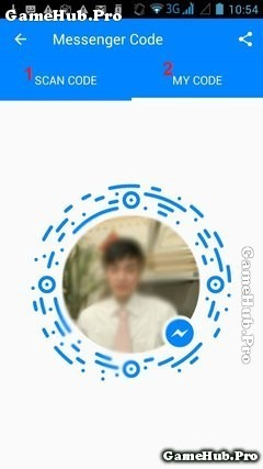 Hướng dẫn mã vạch Scan Code trên Facebook Messenger