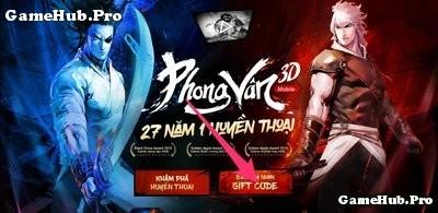 Phong Vân 3D Mobile: Đăng ký nhận Giftcode ra mắt game