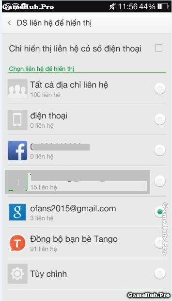 Hướng dẫn sao lưu danh bạ, sms lên gmail và 2 máy Oppo