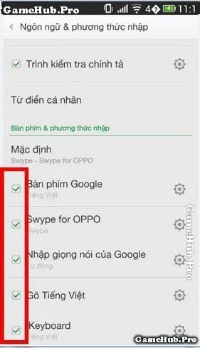 Cách sửa lỗi không hiện bàn phím trên điện thoại Oppo