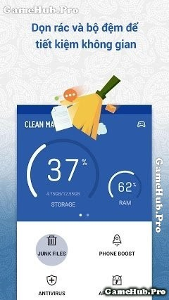 Tải Clean Master - Quét rác, diệt Virus Android