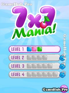 Tải game 7x7 Mania - Xếp hình khối đồ họa đẹp cho Java