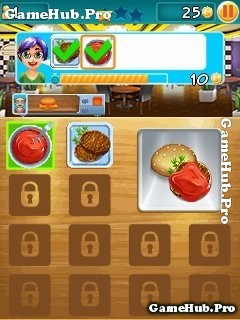 Tải game Burger Fever - Trở thành đầu bếp cho Java