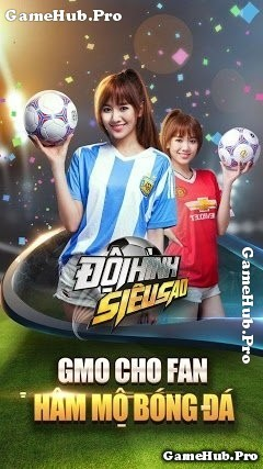 Tải game Đội Hình Siêu Sao - gMO bóng đá cho Android