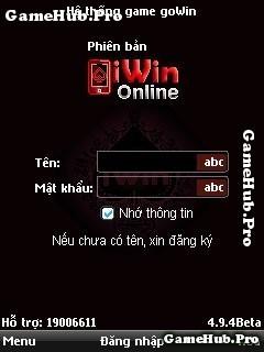 Tải game iWin 494 Online phiên bản iWin 4.9.4 cho Java