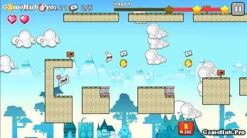 Tải game Jumping World - Thỏ dễ thương Phiêu Lưu Android
