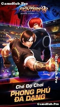 Tải game Quyền Vương 98 - Đối kháng, Võ Thuật từ Garena
