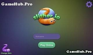 Tải game Slither.io - Rắn săn mồi siêu phẩm cho Android