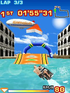 Tải game Turbo Jet Ski 3D Đua Thuyền Gameloft cho Java