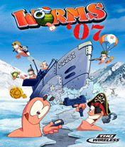 Tải game Worms 2007 - Sâu bắn súng theo Lượt cho Java
