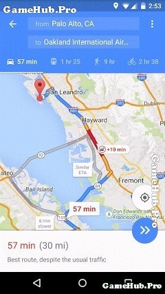 Tải Google Maps Apk - Ứng dụng bản đồ cho Android