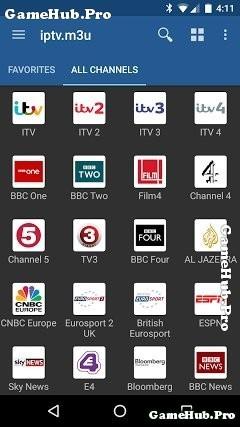 Tải IPTV Apk - Xem truyền hình nước Ngoài cho Android