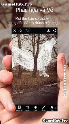 Tải PicsArt - Ứng dụng tạo, ghép hình cô dâu cho Android