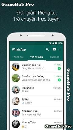 Tải WhatsApp Messenger Apk - Nhắn tin Gọi thoại Android