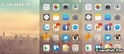 Cách tạo hình nền mờ ảo trên iPhone không Jailbreak