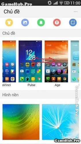 Hướng dẫn thay đổi giao diện (theme) điện thoại Lenovo