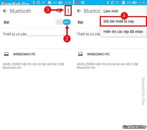 Thủ thuật đổi tên Bluetooth trên điện thoại Zenfone