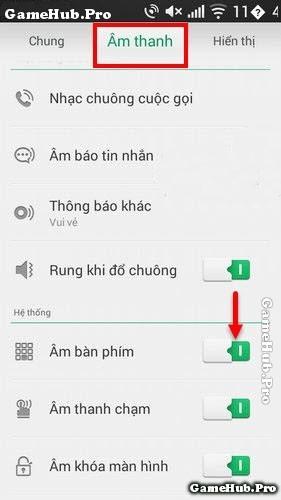 Hướng dẫn thủ thuật tắt âm bàn phím điện thoại Oppo
