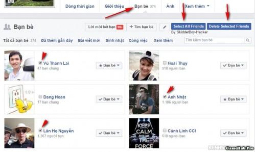 Hướng dẫn cách hủy xóa bạn bè hàng loạt trên Facebook