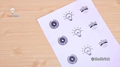 Hướng dẫn làm Sticker dán cốc, lọ, bình thủy tinh cực đẹp