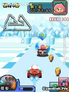 Tải game Crazy fruit Kart - Đua xe đồ họa đẹp cho Java