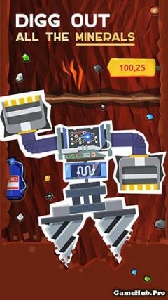 Tải game Drilla - Khoan khoáng sản Mod tiền Android