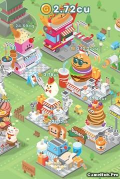 Tải game Foodpia Tycoon - Quản lý nhà Hàng Mod tiền