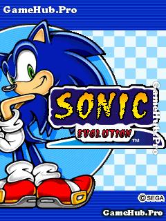 Tải game Sonic Evolution - Nhím siêu tốc hành động Java