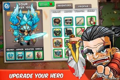 Tải game Tiny Gladiators - Đối kháng sử thi Mod Android
