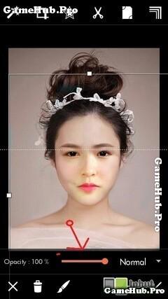 Hướng dẫn cách ghép, tạo ảnh cô dâu bằng PicsArt