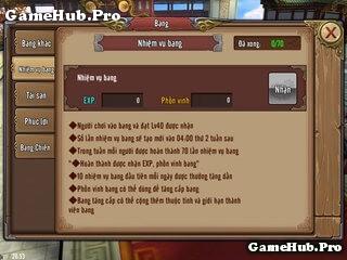 Chơi nhanh từ Level 1 đến Level 70 Phong Vân 3D Mobile
