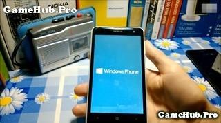 Hướng dẫn mở (phá) khóa màn hình Lumia Windows Phone