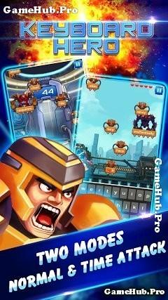 Tải game Anh Hùng Bàn Phím - Keyboad Hero cho Android