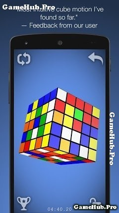 Tải game Magic Cube Puzzle 3D trí tuệ khó cho Android