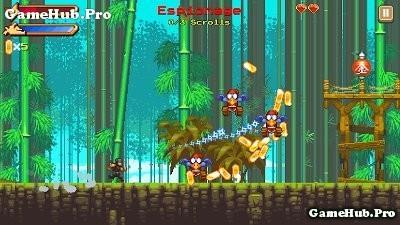 Tải game NinjAwesome - Nhập vai Ninja cực chất Android