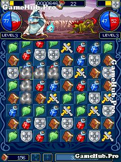 Tải game Puzzle Warriors - Xếp hình RPG cho Java miễn phí