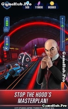 Tải game Thunderbirds Are Go - Team Rush cho Android