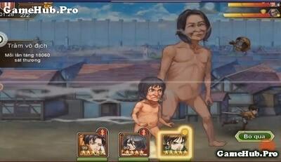 Tải game Titan Đại Chiến - AoT đầu tiên cho Android IOS