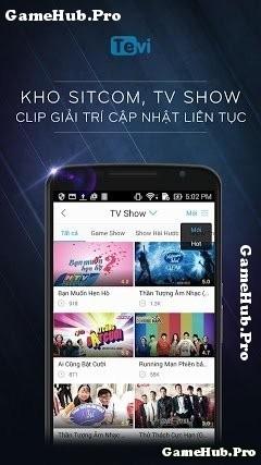 Tải TEVI - Ứng dụng Xem phim, Video giải trí cho Android