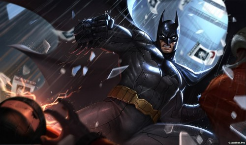 Cách chơi và lên đồ tướng Batman trong Liên Quân Mobile