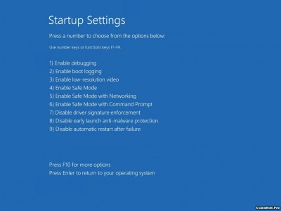 Những cách khắc phục khi Windows 10 không thể khởi động