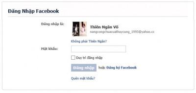 Cách lấy lại tài khoản Facebook bằng chứng minh nhân dân