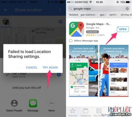 Mẹo chia sẻ vị trí trên Google Maps theo thời gian thực