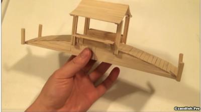 Hướng dẫn cách làm cầu tre bằng các chất liệu mộc mạc