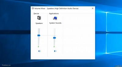 Khắc phục những lỗi về Loa, Âm thanh trên Windows 10