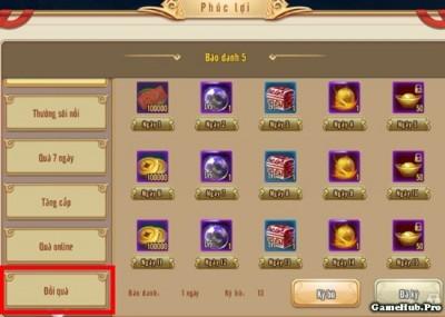 Cách sử dụng Giftcode trong game Phi Long Tại Thiên